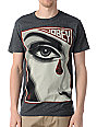 Obey Eye Alert Heather Black T-Shirt