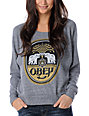 Obey IPA Grey Raglan Top