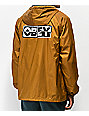 Obey Inside Out Tap Coaches Jacket