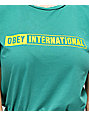 Obey International 2 Teal T-Shirt