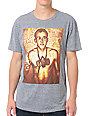 Obey Keith Haring Fine Art Heather Grey T-Shirt