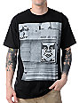 Obey Mens Miami Photo Black T-Shirt