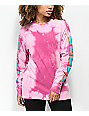 Obey New World 2 Magenta Long Sleeve T-Shirt