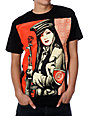 Obey Peace Guard Black T-Shirt
