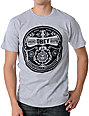 Obey Phonographic Heather Grey T-Shirt
