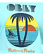 Obey Problems In Paradise Turquoise T-Shirt