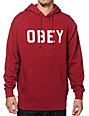 Obey Reflective Collegiate Hoodie
