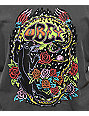Obey Space & Time Washed Black Muscle Tank Top