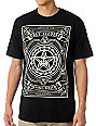 Obey Spinning Dissent Black T-Shirt