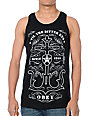 Obey Till The Bitter End Black Tank Top