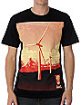 Obey Windmill Black T-Shirt