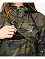 Obey World Wide Outline Camo Anorak Jacket