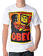 Obey Your Computer White T-Shirt