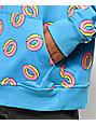 Odd Future Allover Donut Teal Hoodie