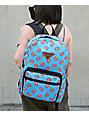 Odd Future Donut All Over Print Blue Backpack