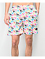 Odd Future Eyeball Elastic Waist Board Shorts