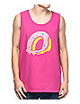 Odd Future Melt Doughnut Pink Tank Top