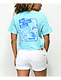 Open925 This Place Blows Blue Crop T-Shirt