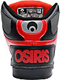 Osiris NYC 83 Black, Red & Chrome Skate Shoes