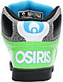 Osiris NYC 83 Lime, Black, & Cyan Skate Shoes