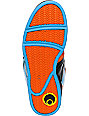 Osiris NYC 83 Orange, Black, & Blue Mens High Top Skate Shoes