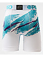 PSD 90s Cup Youth Teal & White Boxer Briefs