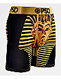 PSD Kyrie Pharaoh Youth Black & Gold Boxer Briefs