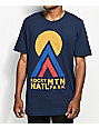 Parks Project CO Rocky Mountain Hut Hut Kike camiseta en azul marino