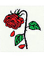 Petals & Peacocks Petal Rose Sticker