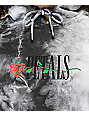 Petals by Petals & Peacocks Or Thorns Black Tie Dye Hoodie