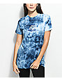 Pink Dolphin Dice Blue Tie Dye T-Shirt