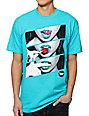 Popular Demand Candy Lips Teal T-Shirt