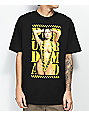 Popular Demand Caution camiseta negra