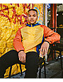 Primitive Layers Yellow, Blue & Red Windbreaker Jacket