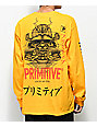 Primitive Samurai Gold Long Sleeve T-Shirt