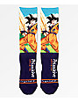 Primitive x Dragon Ball Z Goku calcetines en azul marino