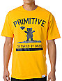 Primitive x Grizzly x Diamond Cultivated Yellow T-Shirt