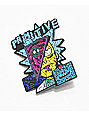 Primitive x Rick and Morty Destructed Enamel Pin