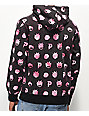 Primitive x Rick and Morty Flood Print Pink & Black Hoodie