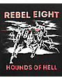 REBEL8 James Jirat Hellhound Black T-Shirt