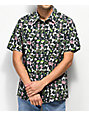 RIPNDIP Nermal Flower Black Button Up Shirt
