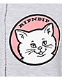 RIPNDIP Stop Being A Pussy Heather Grey Hoodie