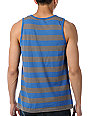 RVCA Medic Blue Stripe Tank Top