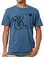 RVCA Rhino Charge Blue T-Shirt