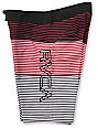 RVCA Scorpius 21 Red Striped Board Shorts