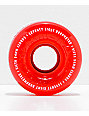 Ricta Crystal Clouds 54mm 78a Red Skateboard Wheels