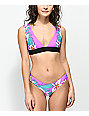 Rip Curl Hot Shot Purple Halter Bikini Top