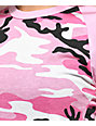 Rothco City Pink & White Camo T-Shirt