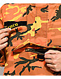 Rothco Savage Orange Camo Anorak Jacket