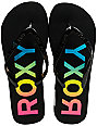 Roxy Maui Black Jelly Sandals